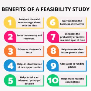 Feasibility study benefits